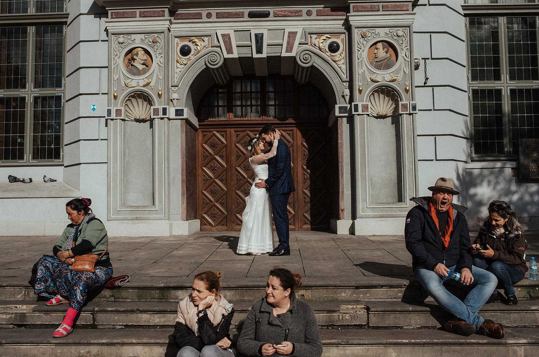 street photo, Gdańsk , Ślub