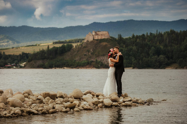 Czorsztyn jezioro ,Stary Młyn Nowy Sącz,fotograf Nowy Sącz, Tomasz Konopka, slub w górach , reportaż ślubny