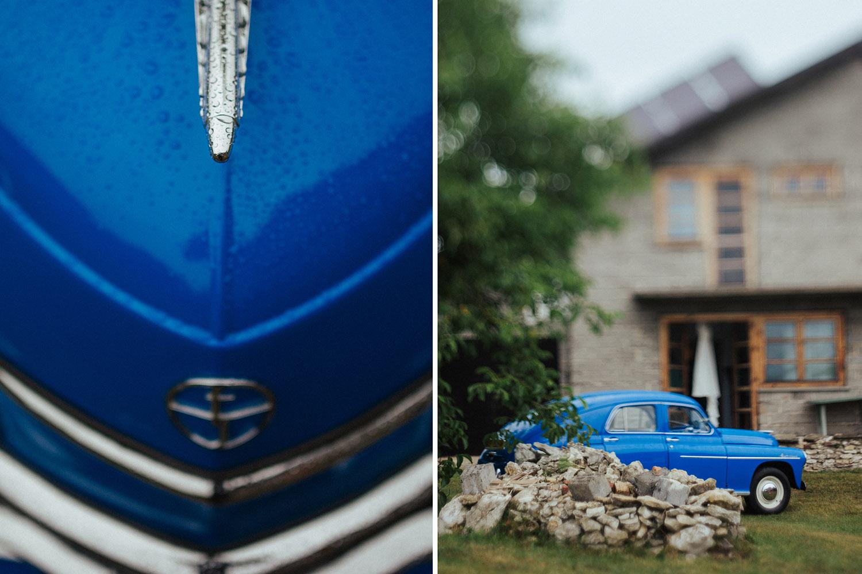 sarenka samochód , ślub