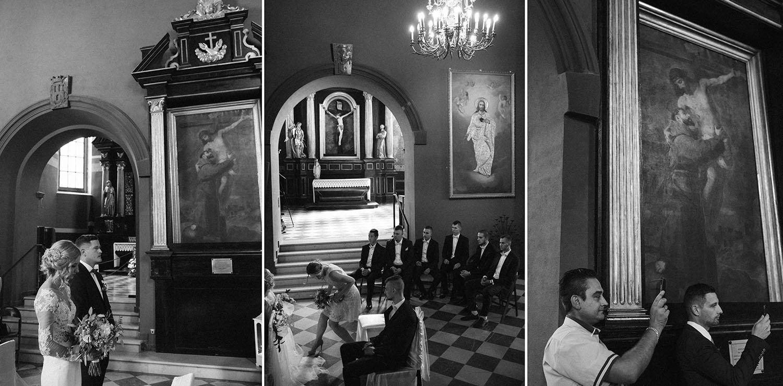 Będzin kościół , Dąbrowa Górnicza , ślub,fotografia ślubna Kraków , Kazimierz sesja ślubna, Tomasz Konopka , Zacisze Dąbrowa Górnicza