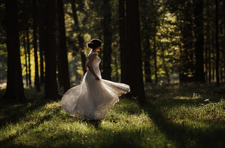 Świerklaniec sesja ślubna, fotograf Śląsk, Myszków, Częstochowa, Katowice , Tomasz Konopka , sesja w lesie